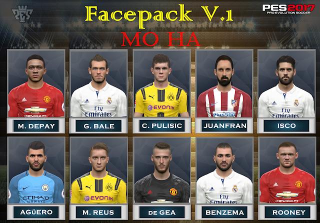 PES 2017 Facepack v.1