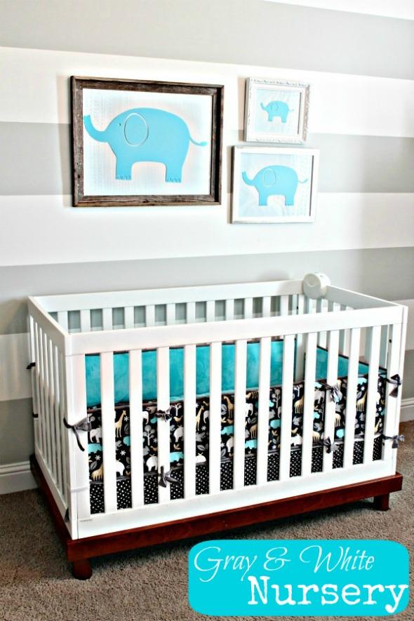 Elephant Themed Baby Bedroom: Sweet Little Nursery: Elephant Nursery