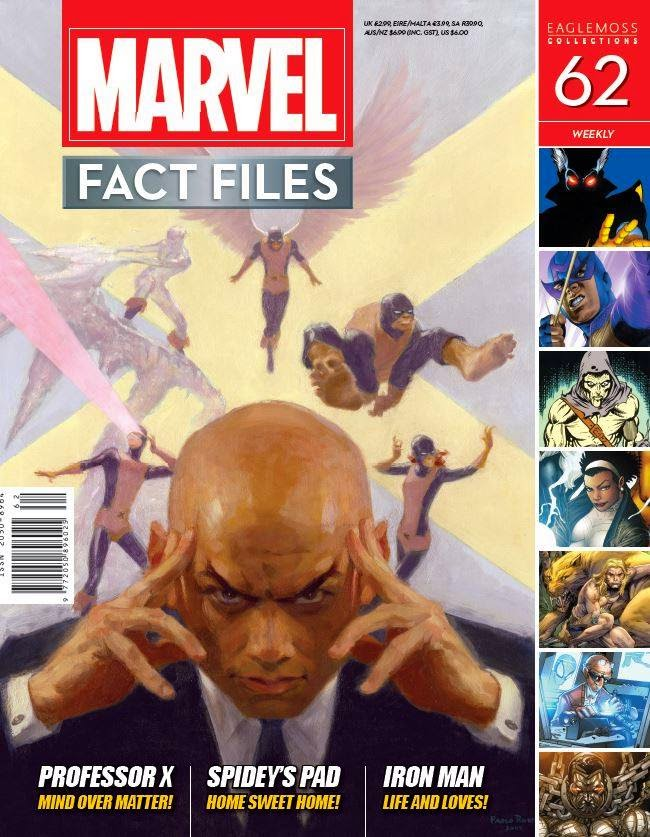 Marvel Fact Files - X-Men