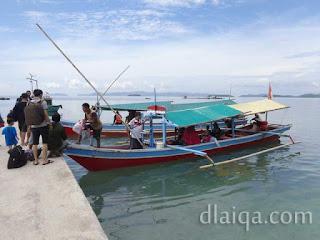 naik ke perahu