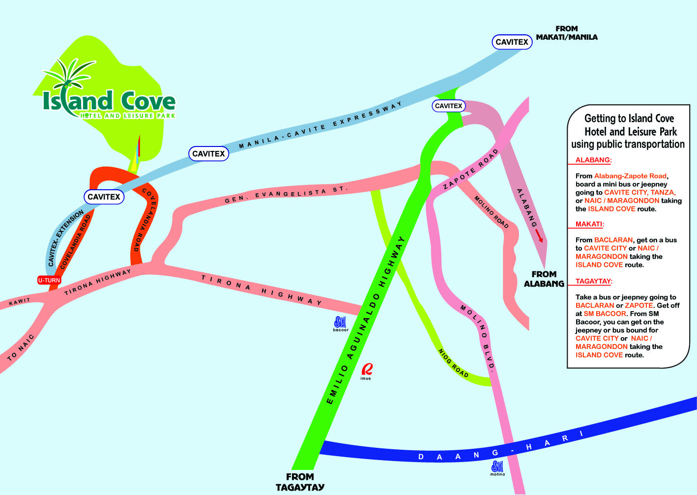 Island Cove Hotel And Leisure Park Email