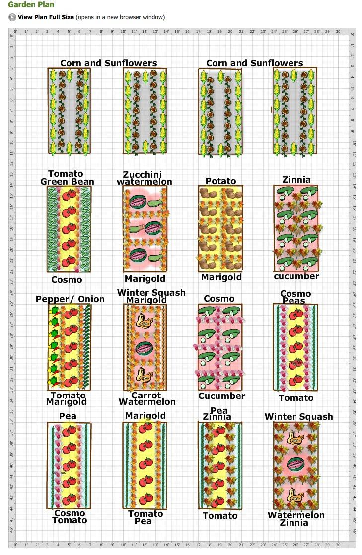 Vegetable And Cut Flower Garden Plan Creative Cain Cabin