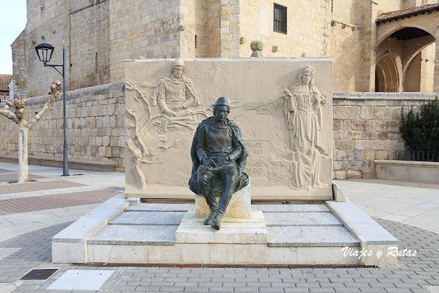 Monumento a Jorge Manrique de Paredes de Nava