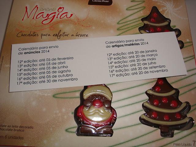 Calendário 2014 da Revista Nécessaire