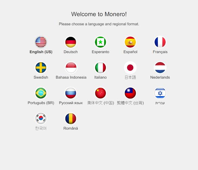 Запуск кошелька Monero GUI