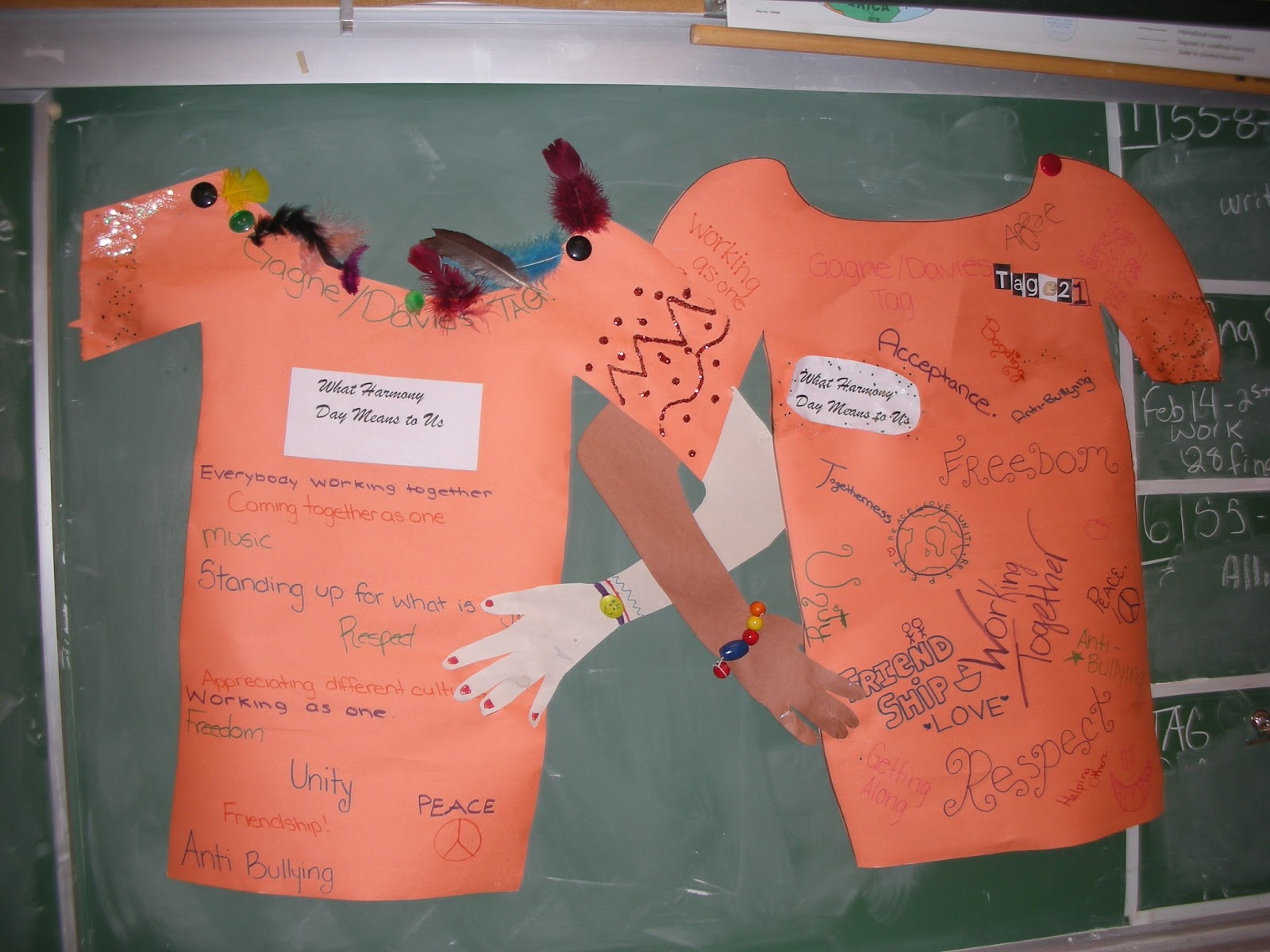 Harmony Day T Shirt Activity