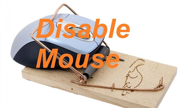 Disable Keyboard + Mouse Di Tempat Tertentu