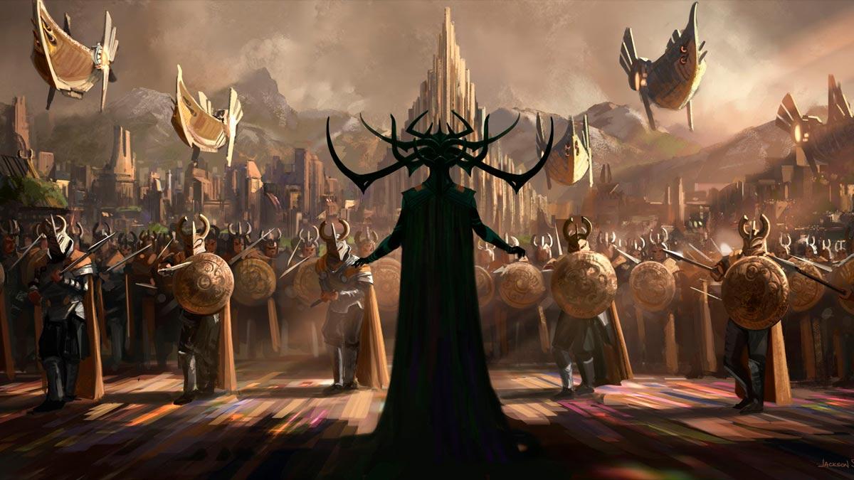 Thor: Ragnarok - arte de la pelicula