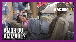 A Fazenda 12 – Biel critica Cartolouco – Tays questiona relação entre JP e Stéfani