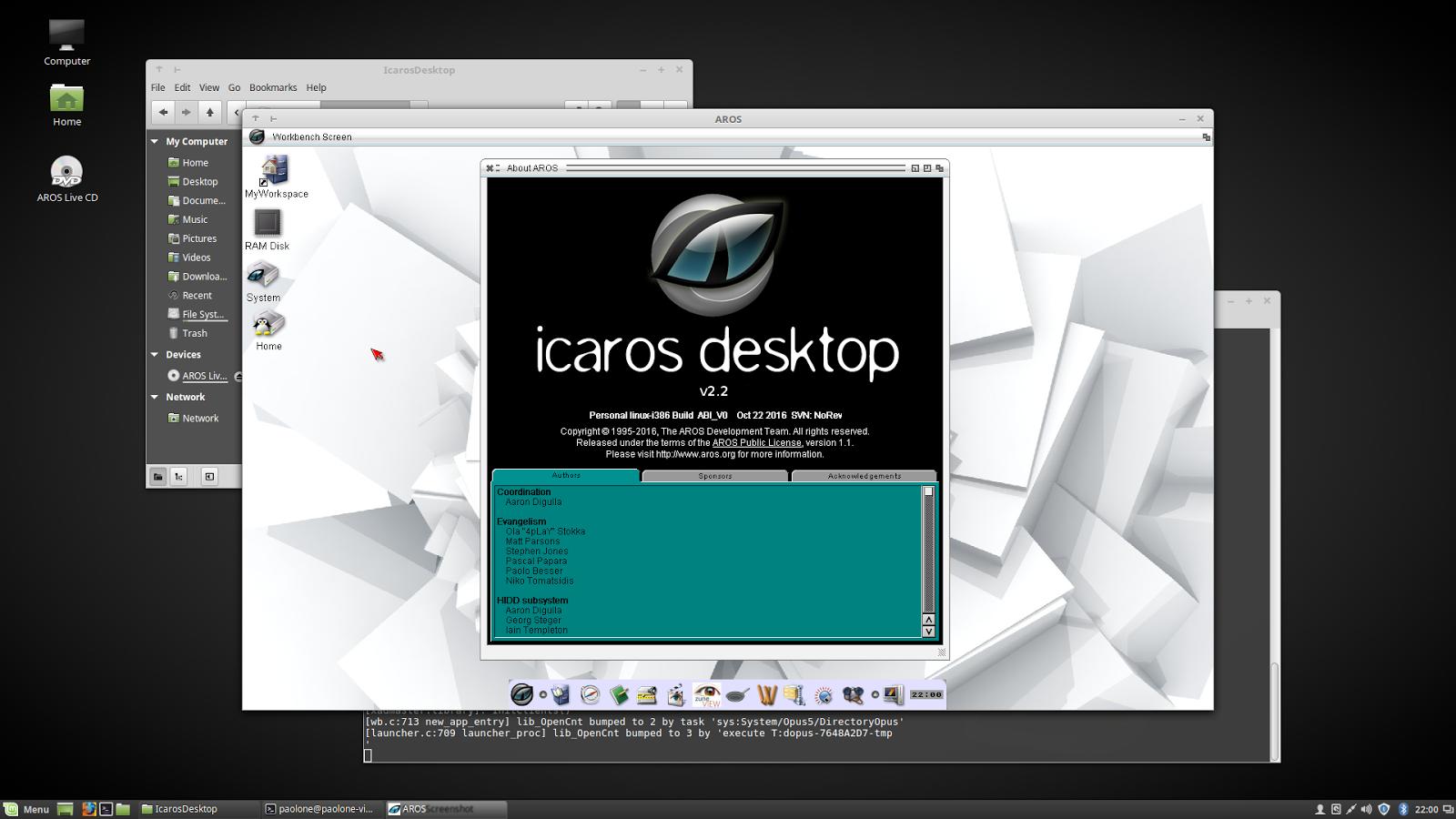 Native or hosted on Linux? Both! - Icaros Desktop