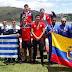 Canotaje: Uruguay sumó siete medallas, dos de oro, en el primer día del Sudamericano