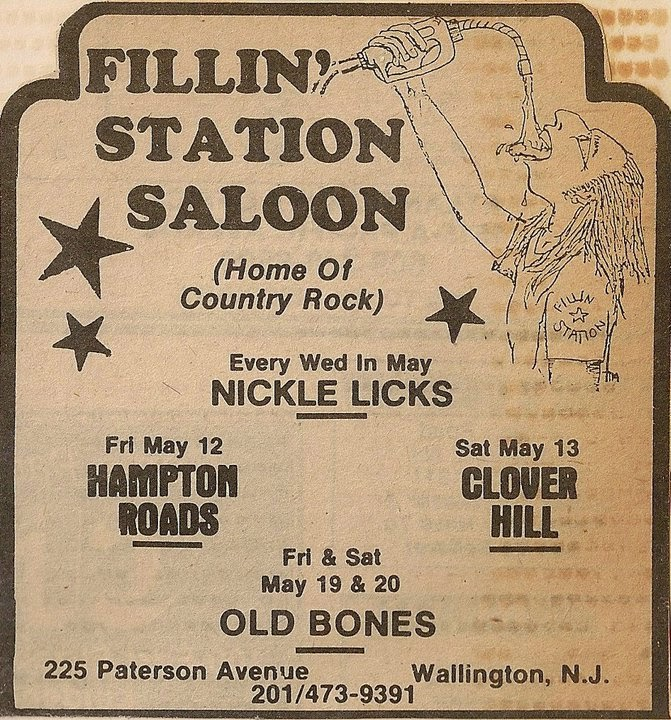 Fallin' Station Saloon ad
