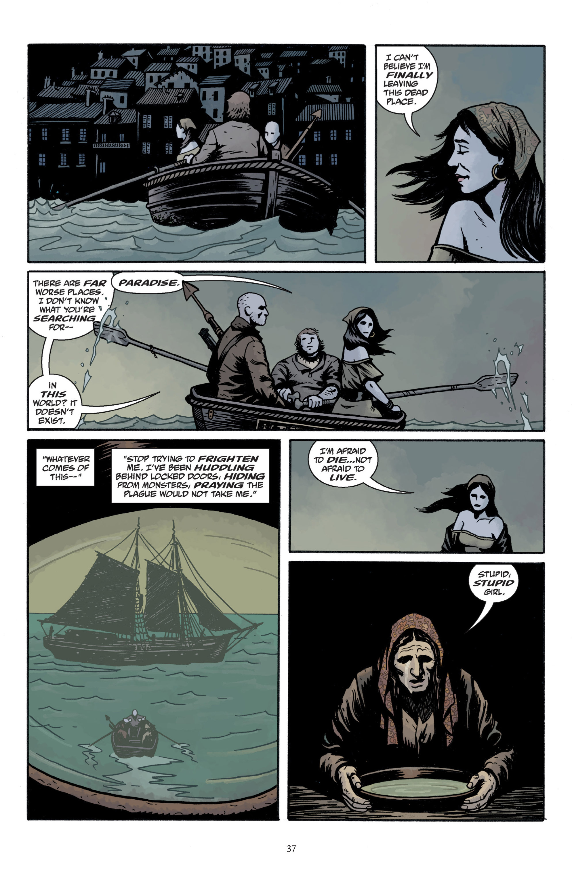 Read online Baltimore: The Plague Ships comic -  Issue # TPB - 39