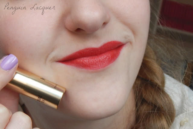 kiko mini divas lipstick 02 swatch with stick