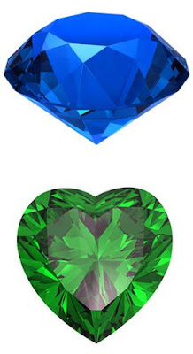 esoteric hidden meaning of precious stones Sapphires and Emerald