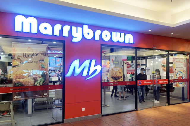 Head to your nearest Marrybrown outlet today