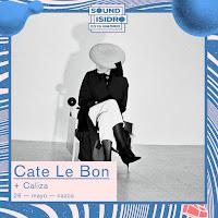 Concierto de Cate Le Bon y Caliza en Sala Nazca