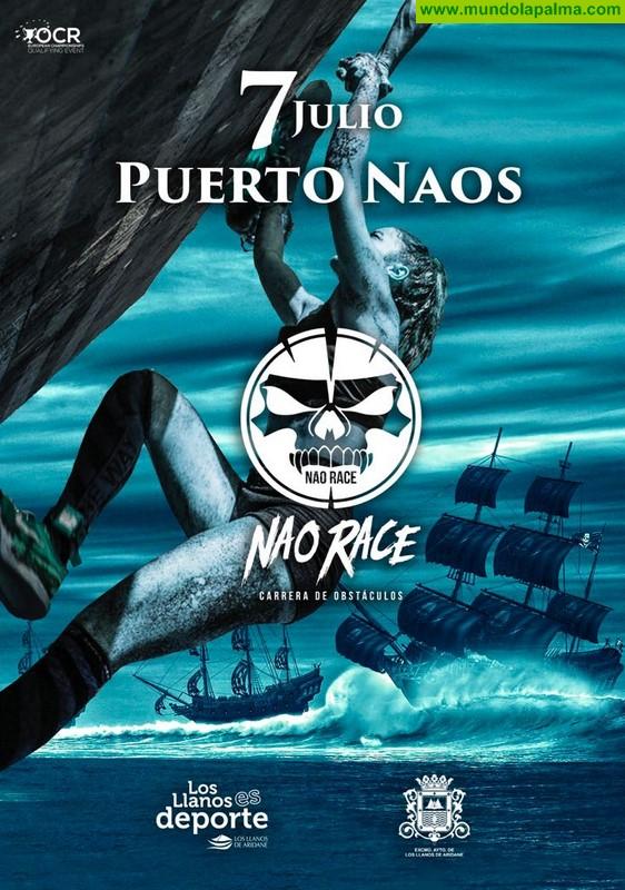 Puerto Naos acoge el 7 de julio la segunda edición de la carrera de obstáculos Nao Race
