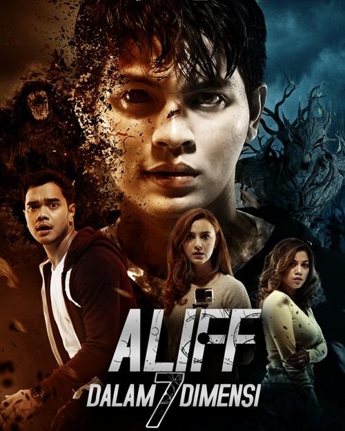 Sinopsis filem Aliff Dalam 7 Dimensi, pelakon dan gambar filem Aliff Dalam 7 Dimensi