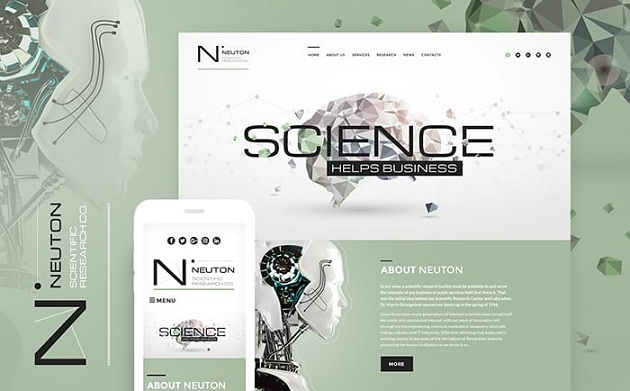 ScienceLab – Remarkable WordPress Theme
