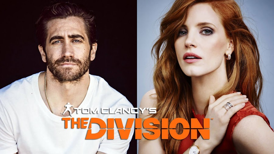 the division video game movie jake gyllenhaal jessica chastain