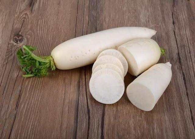 Lobak Putih Untuk Kesehatan dan Kecantikan