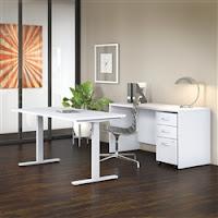 modern ergonomic desk