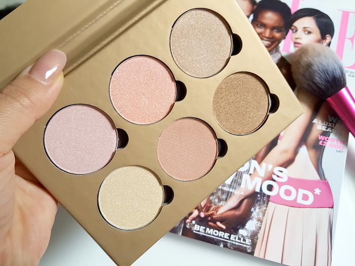 bellápierre Cosmetics - Glowing Palette Highlighter 6 Nuancen / shades
