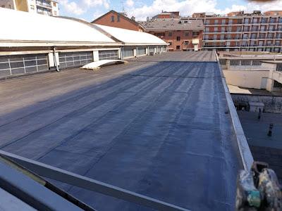 Impermeabilizzazione tetto calpestabile. Segiar