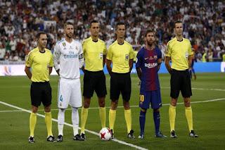 برشلونة ريال مدريد الكلاسيكو الدوري الاسباني ميسي رونالدو
