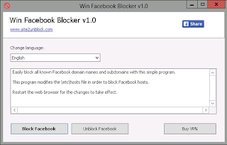 Win Facebook Blocker Portable
