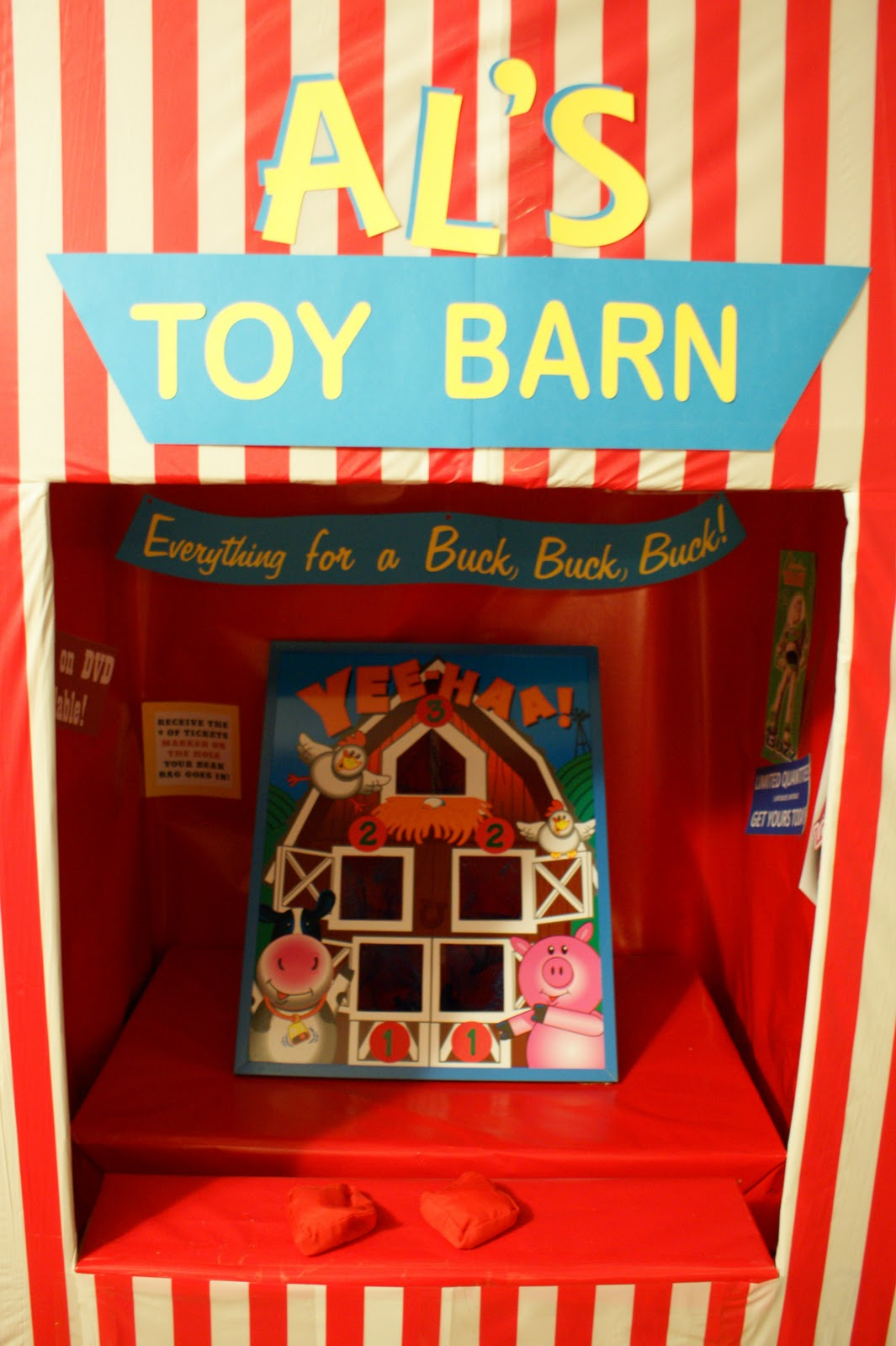 The Purple Patch Toy Story Midway Mania Carnival Birthday