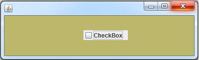 JCheckBox In Java