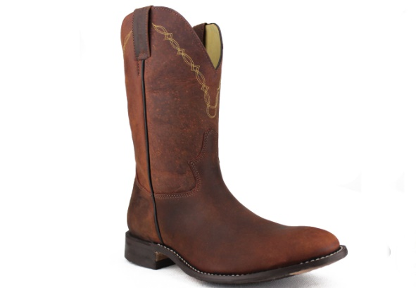 Homens na Moda Bota Cowboy Masculina