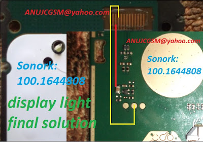Nokia 105 model mobile phone display light problem solution. this post if you follow this picture help you can solve your Nokia 105 mobile phone display light problem easily.