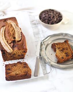 Recette du banana bread aux pépites de chocolat ! Facile, moelleux et carrément délicieux !