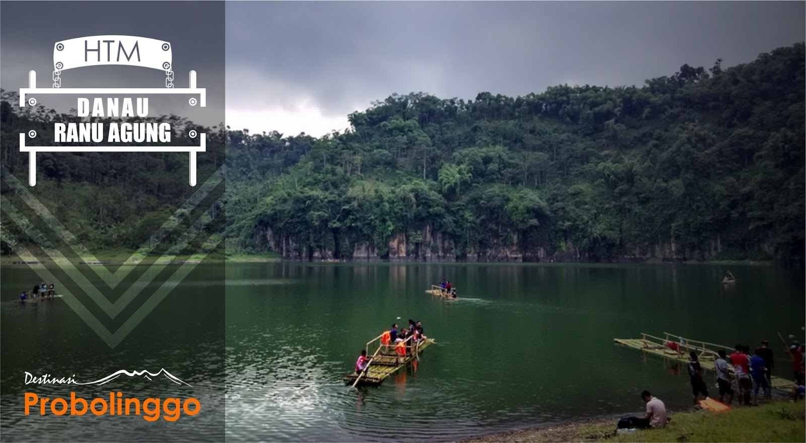 Danau Ranu Agung Probolinggo