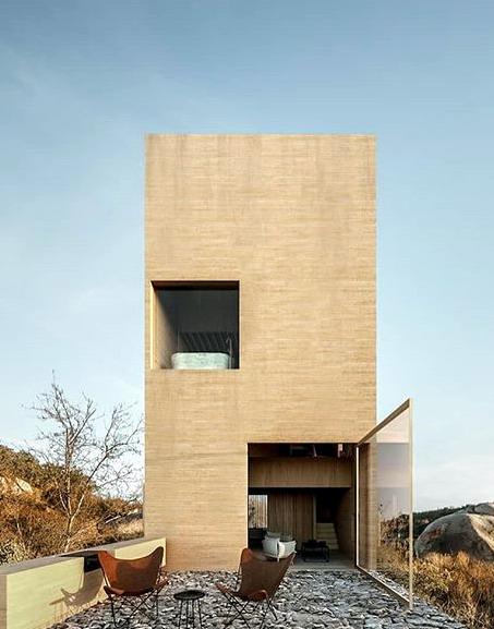 exterior rumah minimalis gaya natural