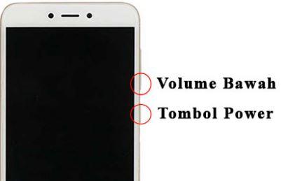 Cara Mengambil Screenshot Layar Xiaomi Redmi Note 5A