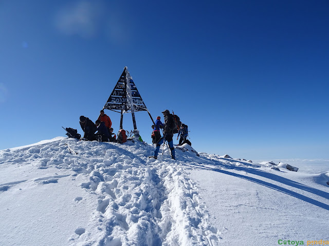 Toubkal, techo de la Cordillera del Atlas