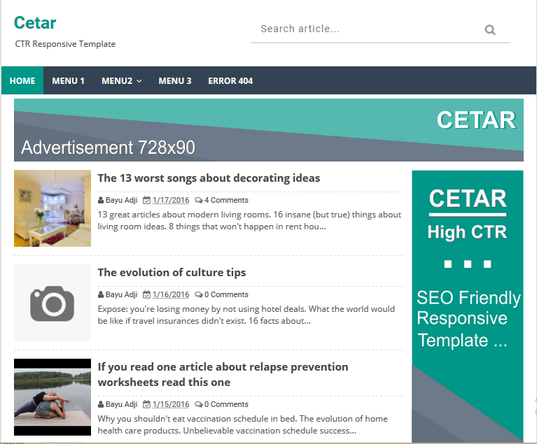 Cetar high ctr responsive blogger template high ctr blogger template cetar high ctr responsive blogger template pronofoot35fo Images