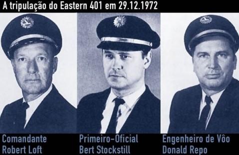 A tripulação do Eastern 401