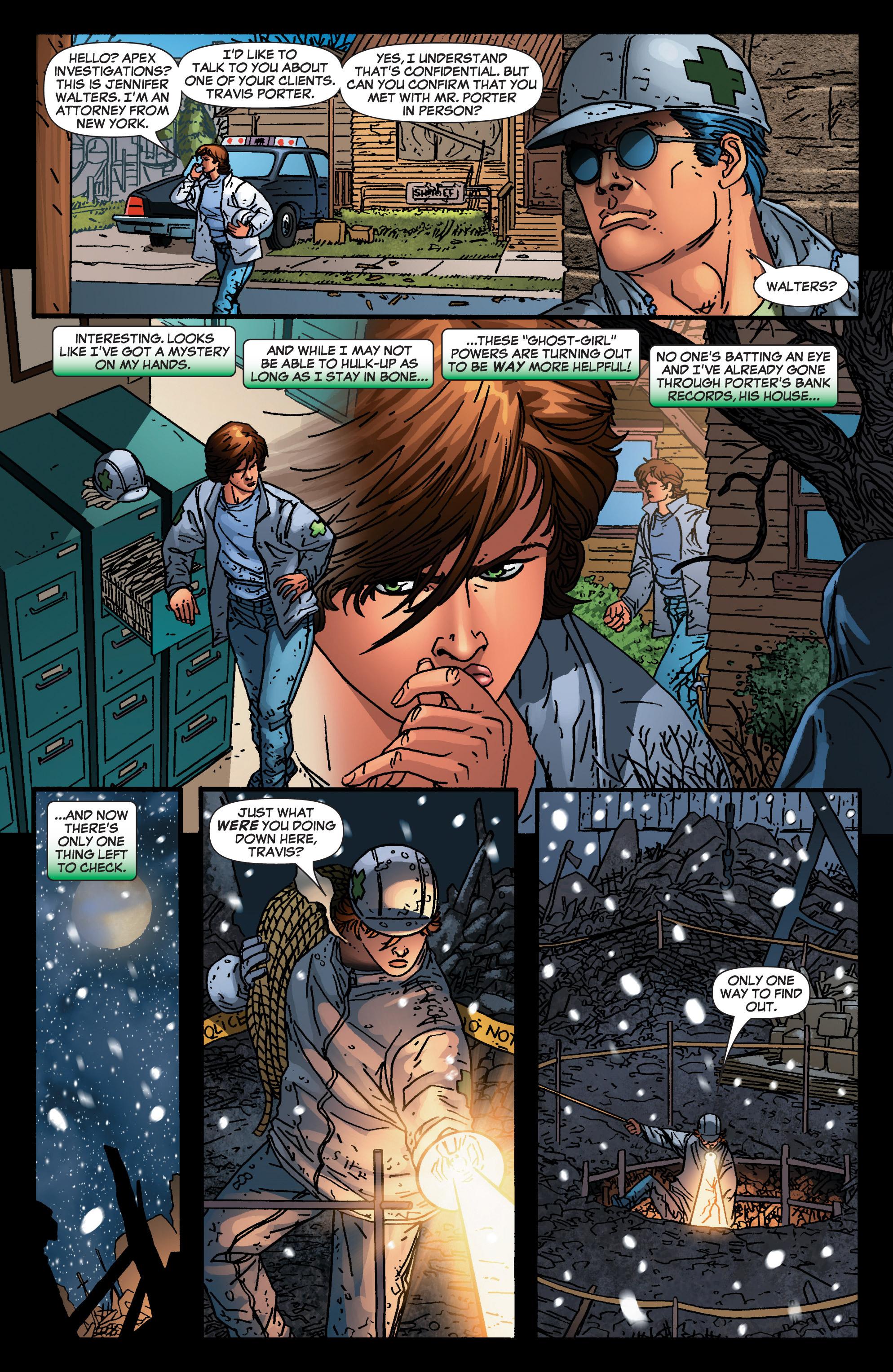 Read online She-Hulk (2005) comic -  Issue #4 - 15