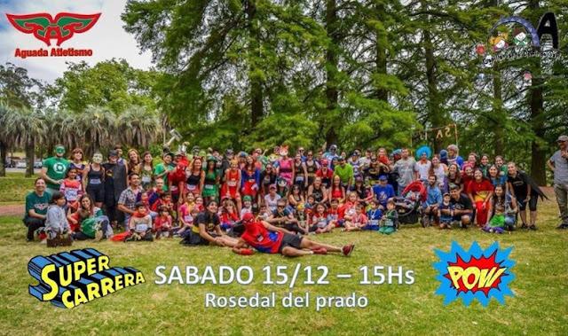 Super carrera en Prado de Montevideo (2a.ed., 15/dic/2018)