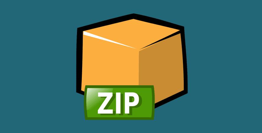 Comandos zip
