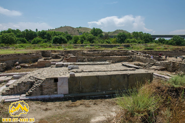 Temple of Isis #Stobi Archaeological site #Macedonia