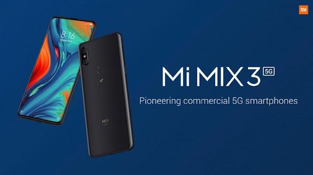 5g Smartphone Mi MIX 3