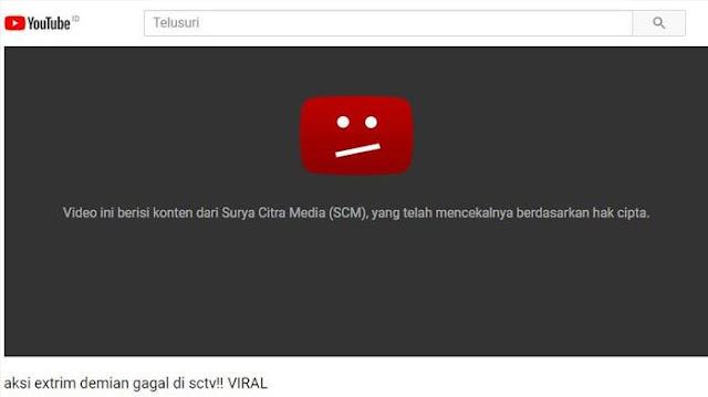 """Video aksi Demian """"Death Drop"""" ini sempat menjadi trending di YouTube."""