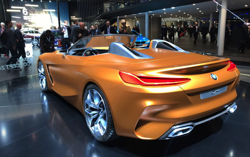 2018 BMW Z4 Roadster Concept Previewed