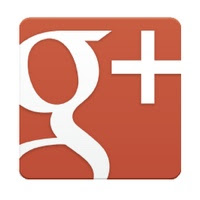 Google plus page button